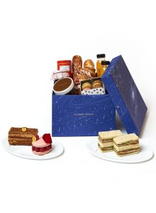 BOÎTE  À GOURMANDISES TEA TIME FOR  2 PEOPLE