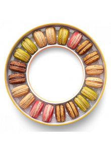 """COLLECTION PRINTEMPS 2021"" 20 MACARONS"