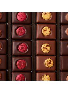 ASSORTIMENT DE CHOCOLATS AU MACARON (20 pièces)